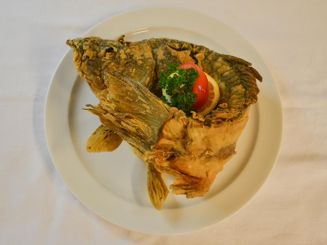 Fische im Restaurant