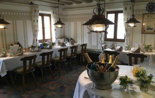 Feiern im Weissen Ross bei Nürnberg